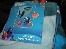 Disney Pixar Finding Dory & Sea Friends Nemo Destiny Plush Fleece Throw Blanket