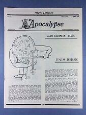 Harry Lorayne's Apocalypse - Aldo Colombini - Trucchi di Magia - 1994 Vol.17