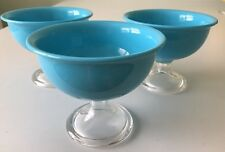 Red Vanilla 14 oz Blue Summer Ice Cream- Cereal Bowls (Set of 3)
