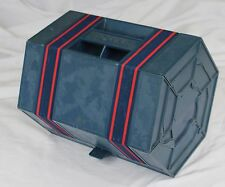 RolyKit Roll Up Storage  Bin Case Tools Crafts Hard Case Blue Red