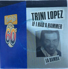 "TRINI LOPEZ ""If I Had A Hammer / La Bamba"" 7"" UK Vinyl Single Reprise reissue EX"