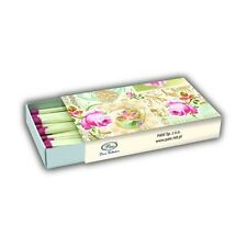 ROSES OF LOVE Matches 40pcs Box Shabby Chic DECOUPAGE Tableware / D