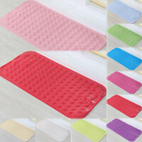 Large Strong Suction Anti Non-Slip Bath Shower Mat PVC Foot Massage Bathroom Rug