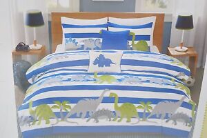 NEW OYO ON YOUR OWN & CLOUD 9 DINOSAUR DINO 7 PC TWIN OR 9 PC FULL BEDDING SET