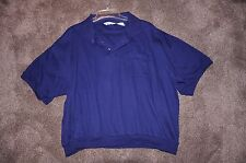 Mens Tournament ARROW Pullover 3-Button Polo Shirt - Size 2XL