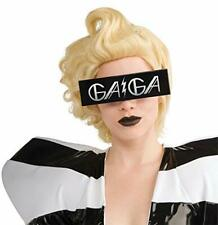 "Lady Gaga Sunglasses Unusual Rectangle Frame ""Gaga"" Stamped Novelty Glasses"