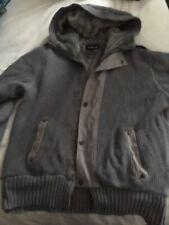 Mens Firetrap Cardigan Style Hooded Jacket Size L Autumn Winter