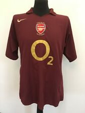 Arsenal London The Gunners 2005/2006 Trikot Home Shirt Nike Jersey (L) camiseta
