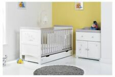 Obaby Winnie Pooh 2 Piece Nursery Room Set Cot Bed Changer Dreams Wishes