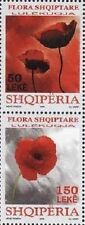 Albania Stamps 2008. Albanian flora (poppy flower). Set MNH