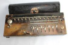 Calculatrice antique calculator MADAS made in Switzerland PAT.1913 (38081)