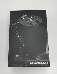 Batman Batwing Posable Desk Light by Paladone Black