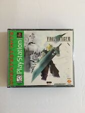 Final Fantasy VII (PlayStation 1, 1997) Greatest Hits.