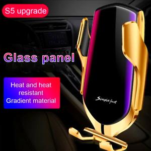 Cargador De Carro Rapido Inalambrico Para Iphone X 11 Pro max Samsung Galaxy S10