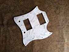 Hand Tooled/Carved Custom Leather Pickguard Gibson SG Standard Sheridan