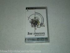 Time Travelers Sony PSP Japan Import FREE SHIPPING