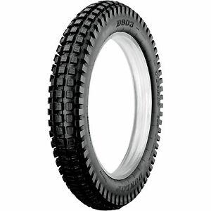 Dunlop D803GP Trials Tire 120/100Rx18 (Tubeless) (68M)