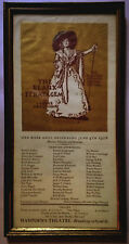 THE BEAUX STRATAGEM Farquhar Marchbanks Press poster 1928 Players Annual Revival