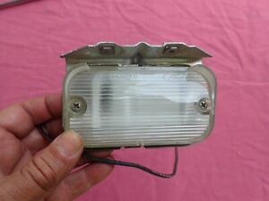 1969-70 Ford Galaxie parking light assembly, NOS! lens housing  turn signal
