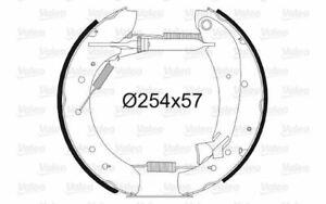 VALEO Kit freni a tamburo Lucas / Girling / TRW per FIAT DUCATO 554604