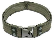 Army Green Heavy Duty Tactical Belt Load Bearing Police Security Military 54mm