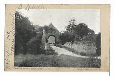 "(0572)  1913 P/C CASTLE RISING UNITED KINGDOM  ""MARHAM"" CANCEL"