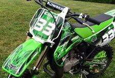 2001 - 2013 KX 85 100 graphics kit Kawasaki KX85 KX100 #2001Green