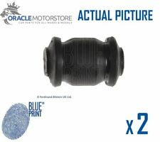 2 x NEW BLUE PRINT FRONT SUSPENSION ARM BUSH PAIR GENUINE OE QUALITY ADG080247