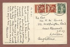 Clarens Switzerland 1921, Rev. W.H.M.Jones 99 Wolfington Road  W/Norwood    AH95
