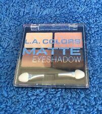 LA Colors Matte Eyeshadow Quad - MELB STOCK