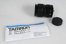 28-70MM 3.5-4.5 TAMRON ADAPTALL S LENS CANON FD
