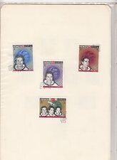 Briefmarken mit Raumfahrt-Motiven aus Jemen