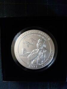 2021 P Uncirculated AtB Tuskegee Airmen 5 Ounce Silver Quarter, Ready to Ship