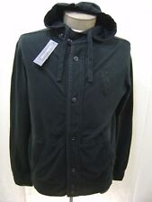 Polo Ralph Lauren Men's Sweatshirt Sweater BIG PONY Hoodie Jacket Black Hooded L