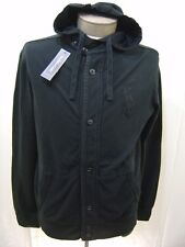 BIG PONY Polo Ralph Lauren Mens L Hoodie Sweatshirt Sweater Jacket Black Hooded