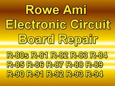 ROWE AMI JUKEBOX ELECTRONIC CIRCUIT BOARD REPAIR ALL MODELS R-80S TO R-94