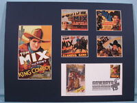 Saluting Western Film Star Tom Mix &  First day Cover