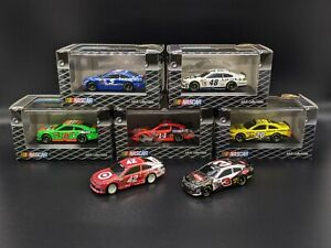 Lot of 7 2014 NASCAR 1:87 Diecasts Larson/Dillon/Johnson/Kenseth/Stewart/Danica