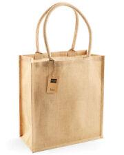 Shugon Calcutta Long Handled 100/% Jute Shopper Bag Strong Shopping Tote SH1105