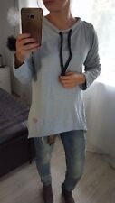 NEW Fashion Women's Ladies Girls casual top blouse long sleeves grey