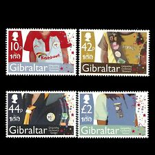 Gibraltar 2010 - 100th Anniversary of Girlguiding Girl Scouts - Sc 1247/50 MNH