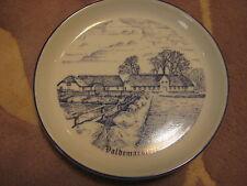 B&G Valdemarstoft Jensen Isenkram Padborg Plate (Rare)