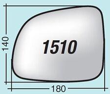 Vetro specchietto Chevrolet sinistro cromato curvo 1510S