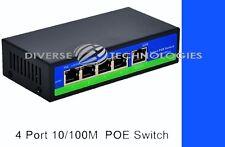4 Port Passive POE Switch 4 +1 Ports 4,5+/7,8- Network Switch