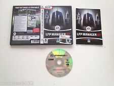 LFP Manager 2007 Gestion/Simulation Football PC FR