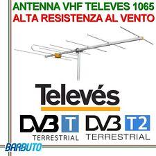 ANTENNA VHF TELEVES MODELLO 1065 ALTA RESISTENZA AL VENTO