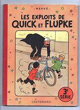 Hergé. Les exploits de Quick et Flupke 3e série. Casterman 1954. B9