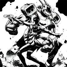 GCPD BATMAN Greg Capullo ART PRINT Armor Suit SIGNED Danny Miki DC COMICS New