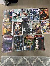 HUGE BATMAN Comic LOT Detective Batman Beyond Set Of 14 The Next Batman