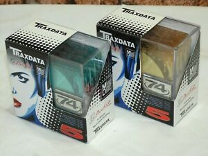 10 x Brand New & Sealed Traxdata 74 Minute Sealed Blank Recordable MiniDiscs